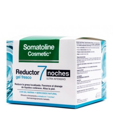 SOMATOLINE COSM REDUCTOR GEL FRESCO 7 NOCHES 250ML.