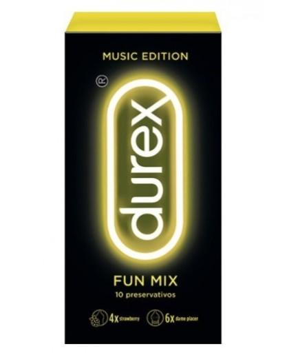 DUREX MUSIC FUN MIX 10UDS
