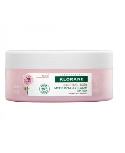 KLORANE PEONIA GEL-CREMA 200ML.