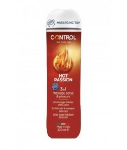 CONTROL GEL DE MASAJE HOT PASSION 3 EN 1