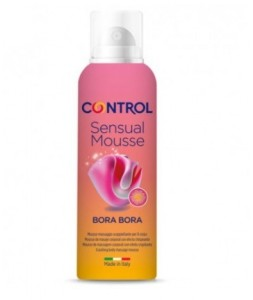 CONTROL SENSUAL MOUSSE MASAJE BORA BORA 125ML.